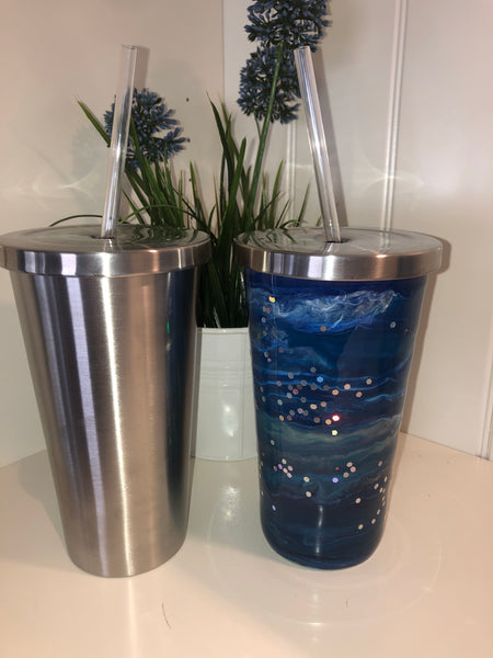 Stainless Steel Thermal Cup- glassware