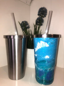 Stainless Steel Thermal Cup - glassware