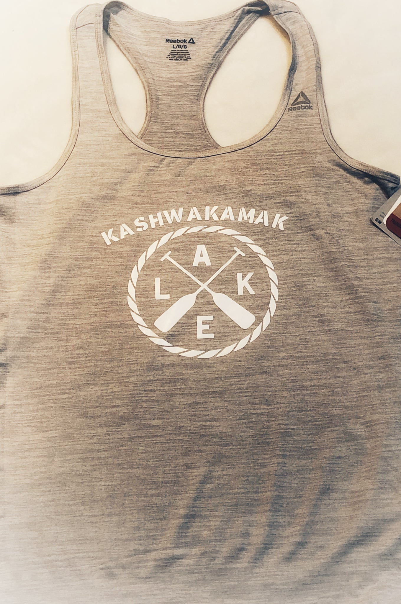 KASHWAKAMAK LAKE - Reebok tank top ( t-shirt)