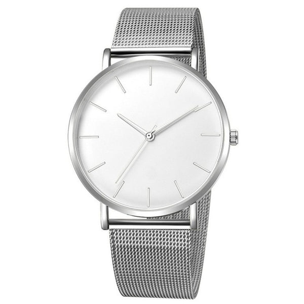 Cleanwatch Silver/White