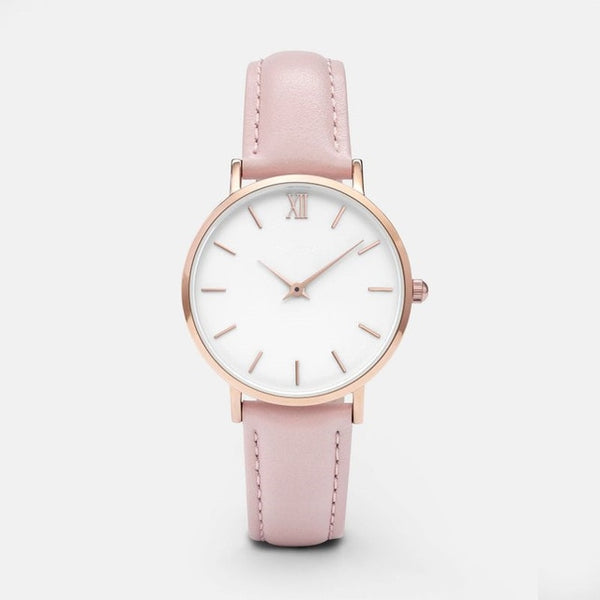 Cleanwatch Pink/White