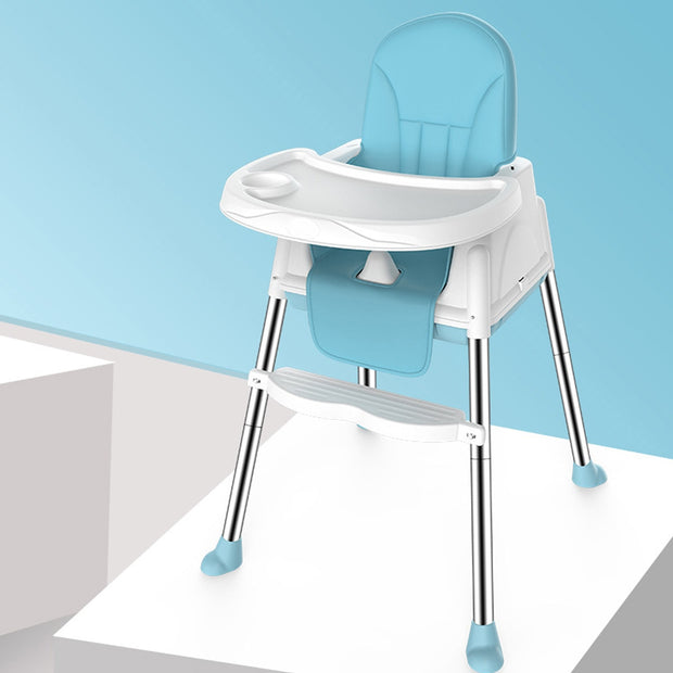 High Chair With Wheeled Seat