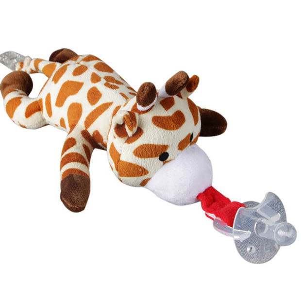 Pacifier with Detachable Stuffed Animal