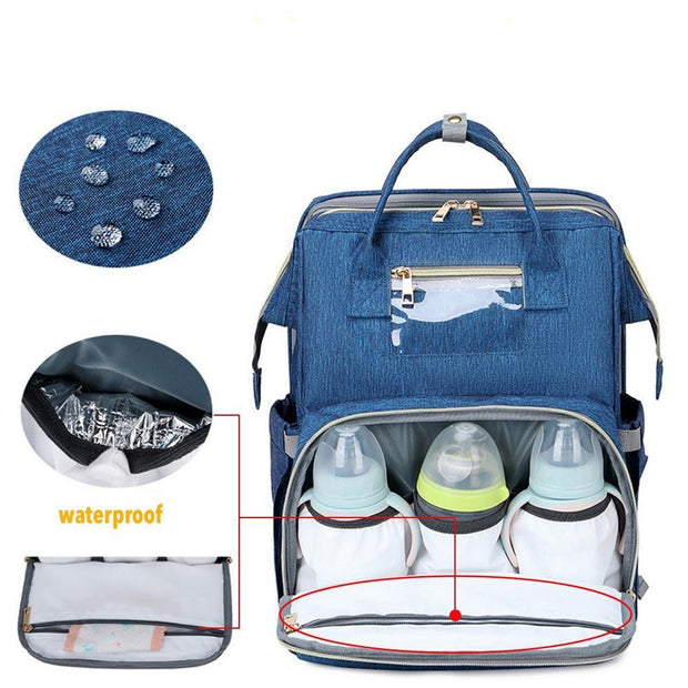 Multi-purpose Travel Baby Backpack