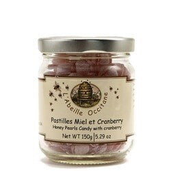 L'Abeille Occitane Honey Pearls Candy With Cramberry