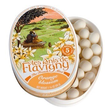 Les Anis de Flavigny All Natural Orange Mints