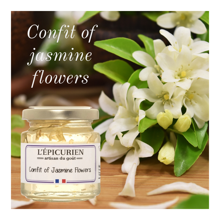 Confit of Jasmin Flowers