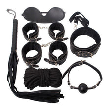 Load image into Gallery viewer, Sexy Bondage Set Adult Kit Collar Ballgag Blindfold HandCuffs cuff Fetish - UK Seller - DISCREET Free and Next Working Day Delivery Options Available