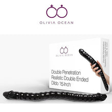 Load image into Gallery viewer, OliviaOcean® Real Feel 15 Inch (38cm) double ended Dildo Sex toy