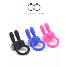 Load image into Gallery viewer, Rampant Rabbit Cock Ring Vibrator Clitoral Stimulator silicone Sex toy - UK Seller - DISCREET Free and Next Working Day Delivery Options Available