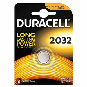 Duracell CR2032 X 2 Packs 3V Lithium Button Battery Cell DL/CR 2032 - UK Seller -  Free and Next Working Day Delivery Options Available