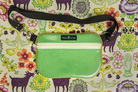 5. Turquoise Goats Fanny Pack/ Hip Bag