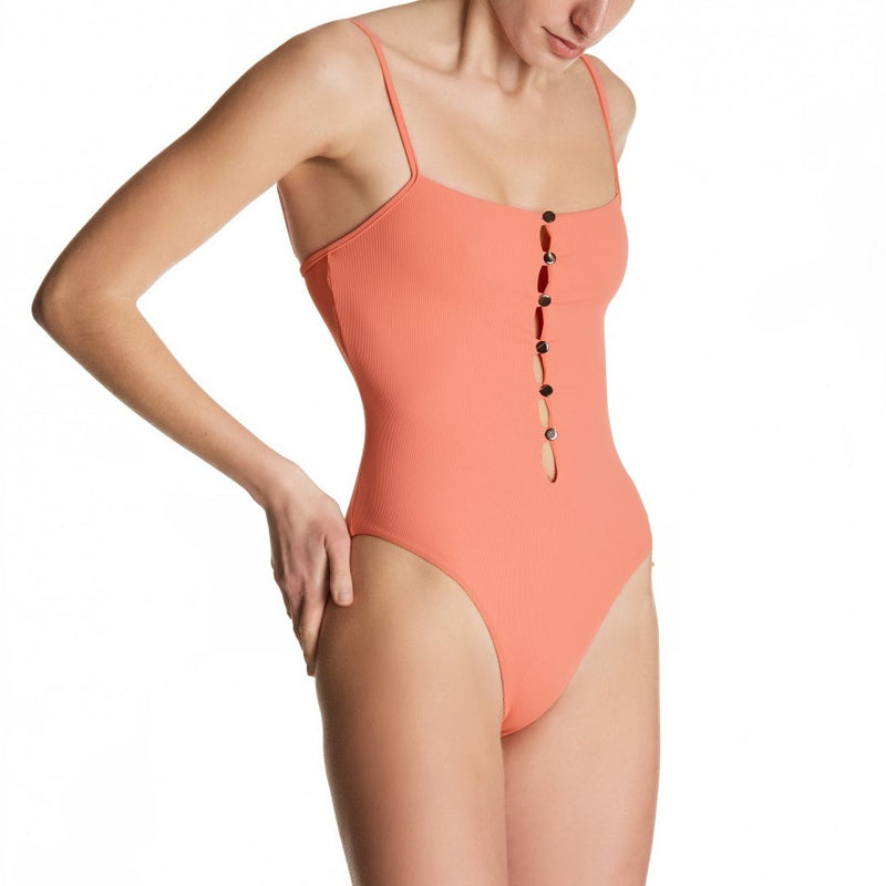Musa Nacre High-Leg Swimsuit