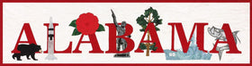Alabama State Pride Laser Cut Banner Kit