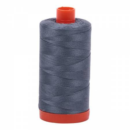 Aurifil 50 wt 1246 Dark Grey - Quilting by the Bay