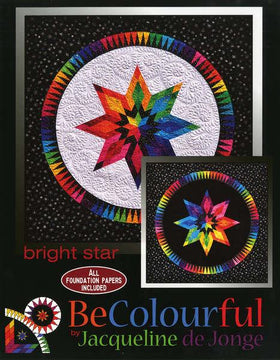 Be Colourful Bright Star Pattern