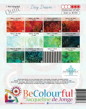 Be Colourful Day Dream Pattern