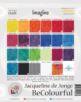 Be Colourful Imagine Pattern