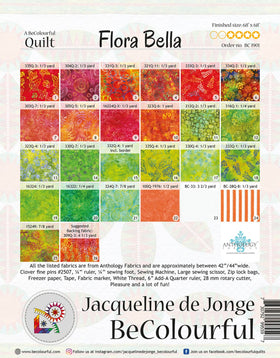 Be Colourful Flora Bella Pattern