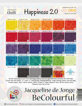 Be Colourful Happiness 2.0 Pattern