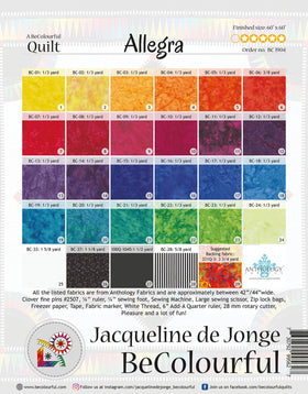 Be Colourful Allegra Pattern