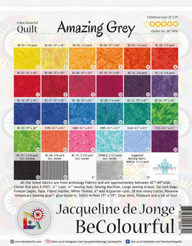 Be Colourful Amazing Grey Pattern