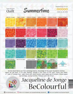 Be Colourful Summertime Pattern BC2004