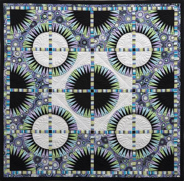 Be Colourful Black Beauty Pattern - Quilting by the Bay