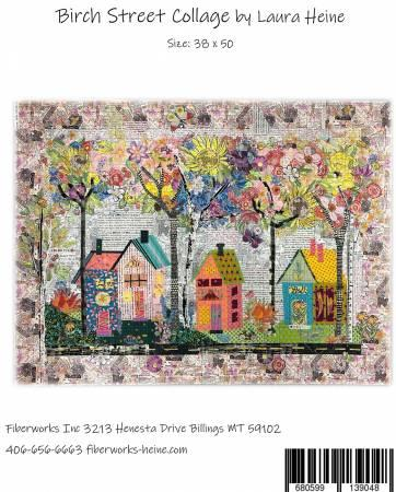 Birch Street Collage Pattern by Laura Heine - Quilting by the Bay