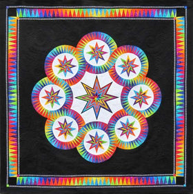 Be Colourful Black Magic Pattern