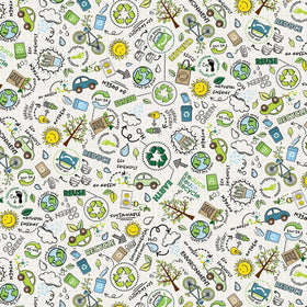 Go Green White Go Green FUN-C8418-WHITE