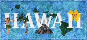 Hawaii State Pride Laser Cut Banner Kit