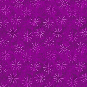 Holiday Treats Purple Starbursts A-9494-P