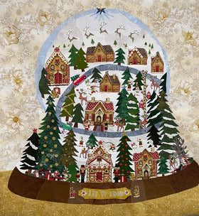 Let It Snow Snowglobe Limited Edition Fabric Kit