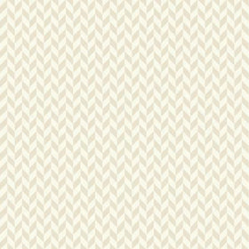 Make Yourself At Home Cream Herringbone MAS9397-E