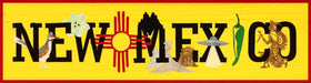 New Mexico State Pride Laser Cut Banner Kit