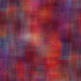 Painted Horses Red/Multi Blur 6668-10