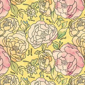 Potpourri Sunshine Bed of Roses 51654 2
