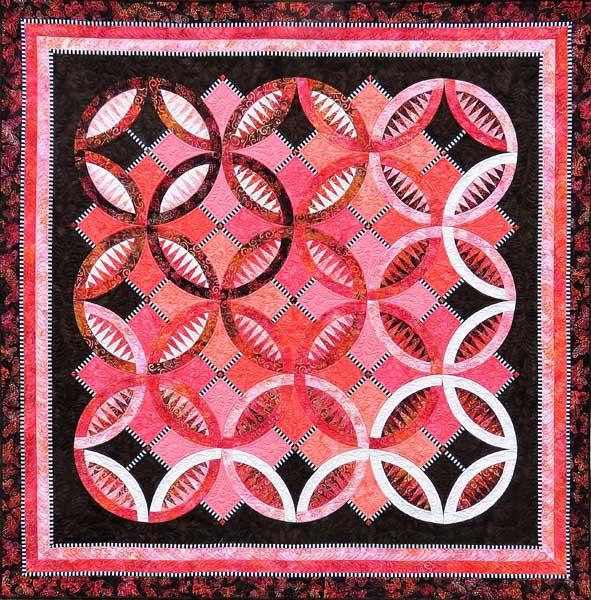 Be Colourful Serendipity Pattern - Quilting by the Bay