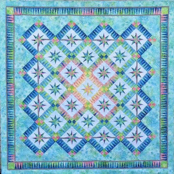 Be Colourful Summer Breeze Pattern - Quilting by the Bay