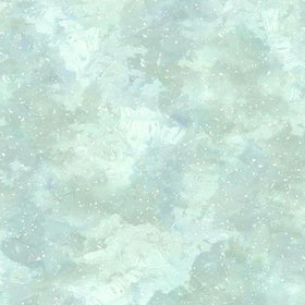 Winter Wonder Aqua Snowy Paint Texture S4709-41