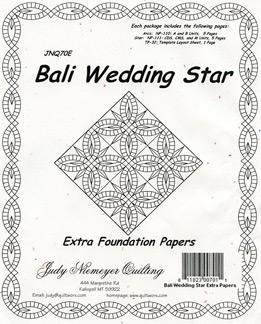 Bali Wedding Star Extra Papers