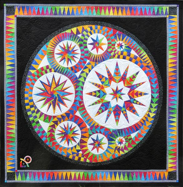 Be Colourful Infinity Pattern - Quilting by the Bay