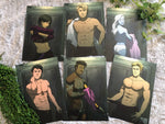 Star Crossed Lovers - Six Print Set (Undressed)