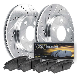 Mercedes-Benz R350 Vented Rear Rotors; 330mm Front Rotors PHCF.35163.02
