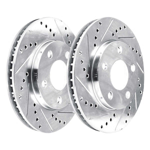 Dodge Daytona Solid Rear Rotors   PHCR.63032.02