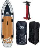 Aquaglide BLACKFOOT ANGLER 11.0 iSUP Peche Stand Up Paddle Gonflable-Stand Up Paddle Gonflable-AQUAGLIDE