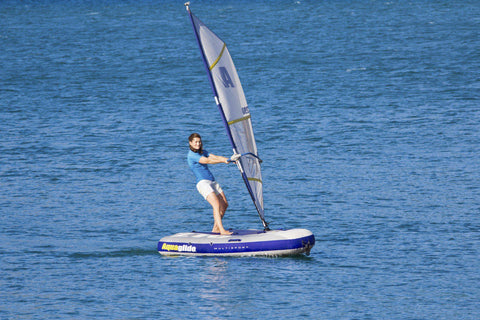 Windsup Aquaglide Multisport 270 Kayak Windsurf Bouée Gonflable