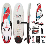 Windsup Aqua Marina CHAMPION 9.9 Sup Windsurf Gonflable + Pagaie - 2019