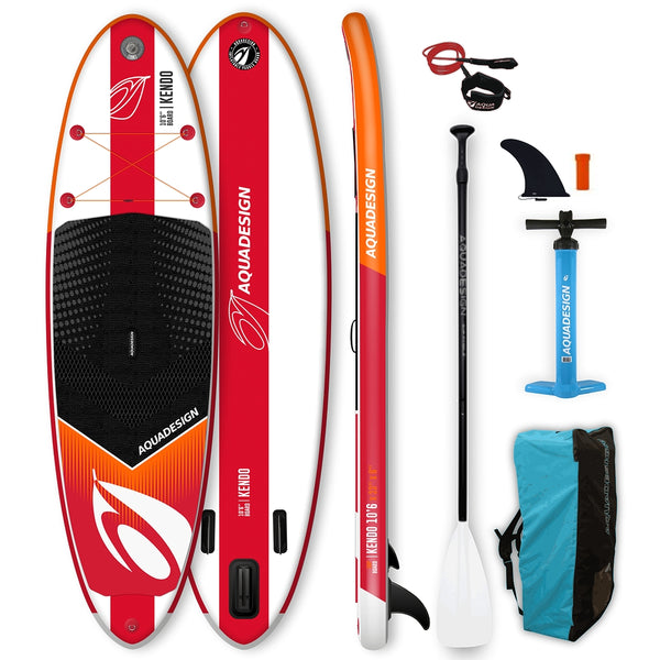 Aquadesign Kendo 10.6 Stand Up Paddle Gonflable-Stand Up Paddle Gonflable-AQUADESIGN